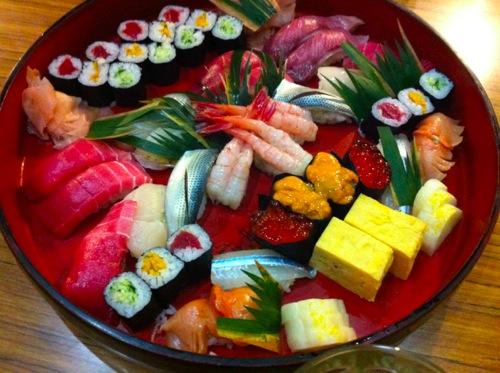 4並木ばしの寿司