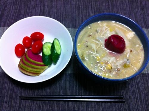 1大晦日の朝食