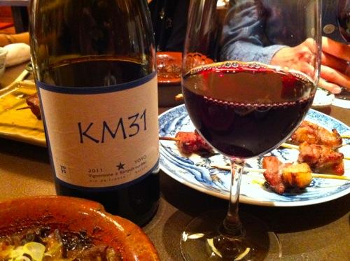 5山利喜赤ワイン