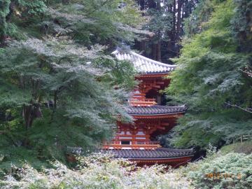 岩船寺三重塔2
