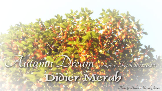 Autumn Dream - Improv Sketch 2012.10.20