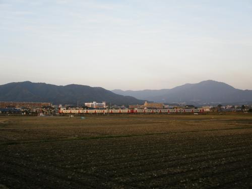 01四王寺山と宝満山