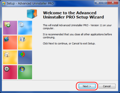 Advanced Uninstaller PRO インストール