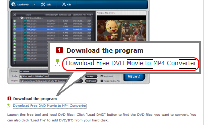 Daniusoft DVD to MP4 Converter ダウンロード