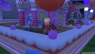 気球に乗る