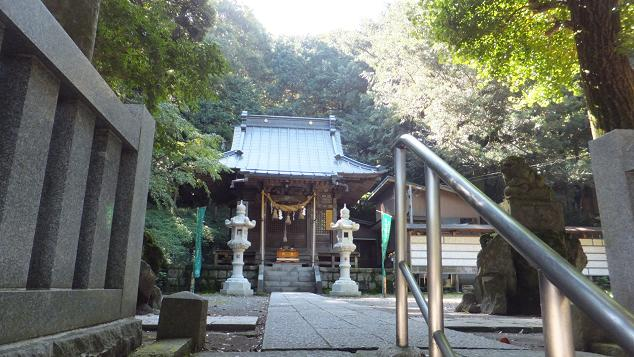 白山神社へ