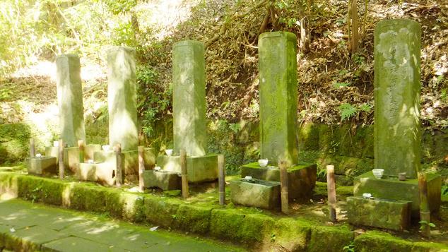 北條5代の墓