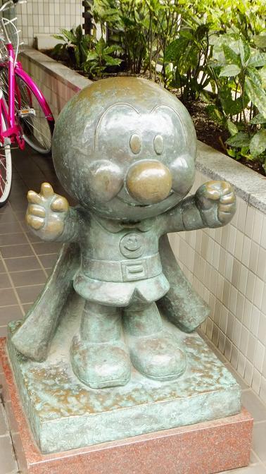 アンパンマン銅像