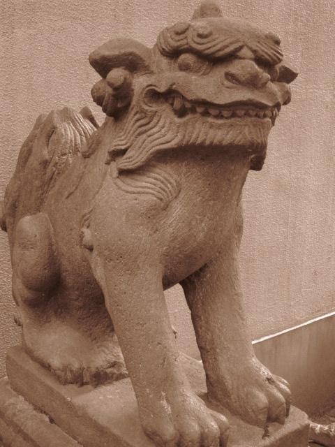 櫻田の狛犬1