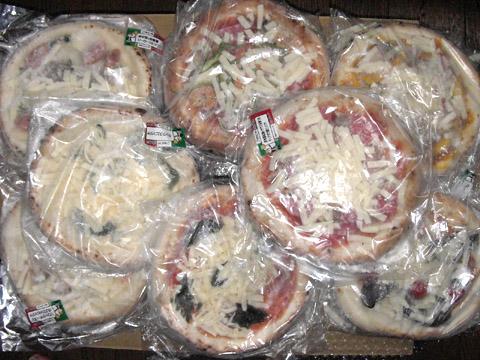 フォンターナのピザ購入