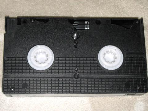 ビデオテープ くぱぁ前