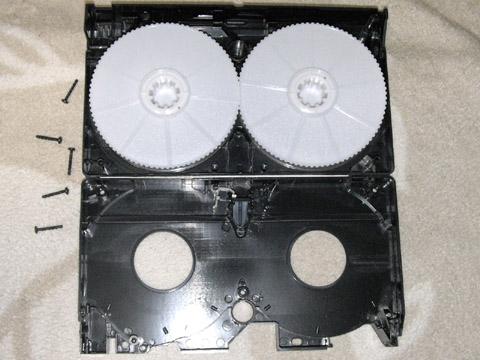 ビデオテープ くぱぁ後