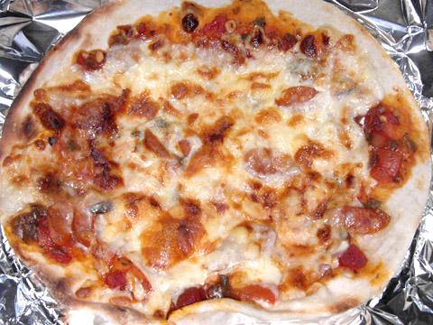 ピザハウスロッソの「ちょっぴり大人向け3枚セット」 スパイシーサルサPIZZA