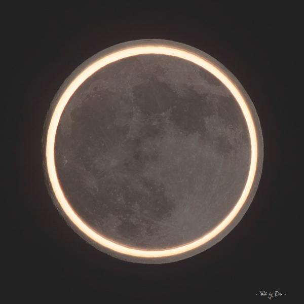 月の大きさ比較 2