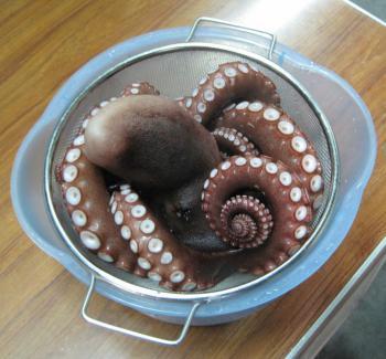 ボイルド蛸