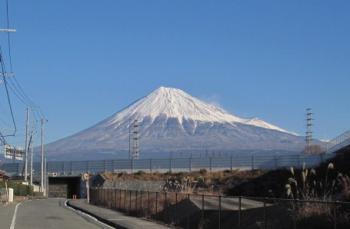 今日も富士山はきれい