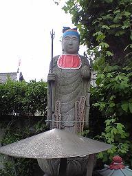「龍蔵寺」 の像