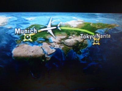 中欧旅行飛行機ルート 7・21