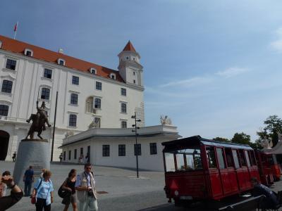 お城と電車⑤ 7・24