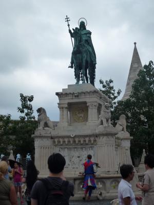 聖イシュトバーン騎士像② 7・25