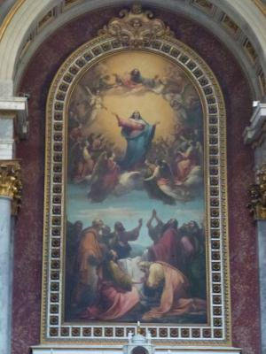 エステルゴム大聖堂絵画①聖母マリアの昇天 7・25