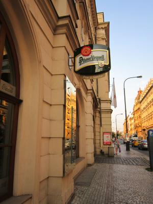 プラハ夕食店① 7・26