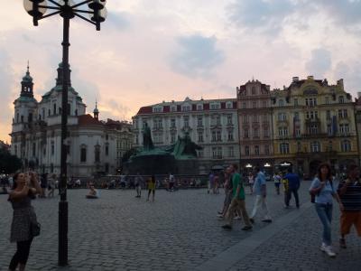 旧市街の広場① 7・26