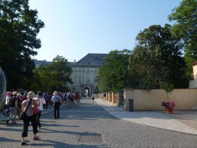 プラハ城正門② 7・27