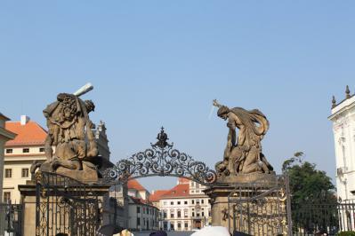 プラハ城⑤巨人像 7・27