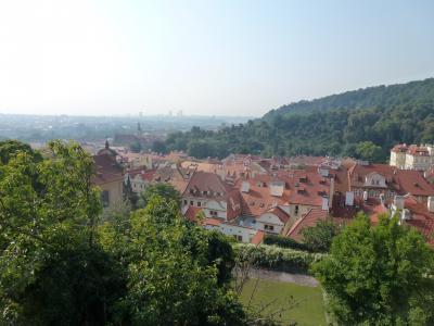 プラハ城からの景色①