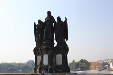 カレル橋彫像② 7・27