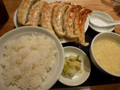ソラマチ 大餃子定食 9・5