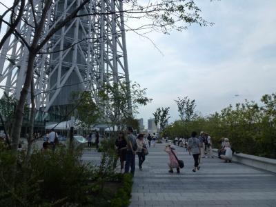 スカイツリー③広場 9・5