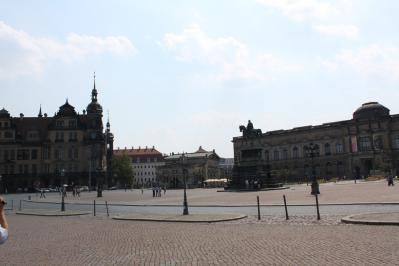 ドレスデン大聖堂と王宮① 7・27
