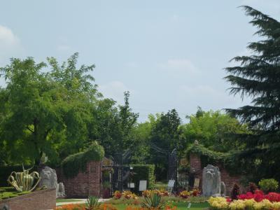 ガーデン入口③ 9・9