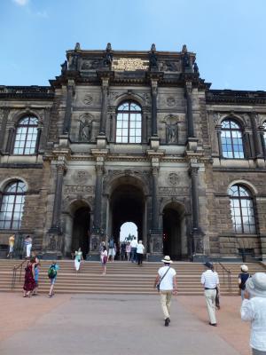ドレスデン宮殿通過① 7・27