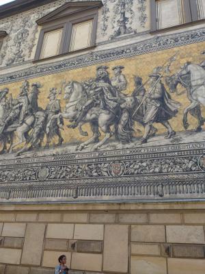 ドレスデン城 君主の行列④ 7・27