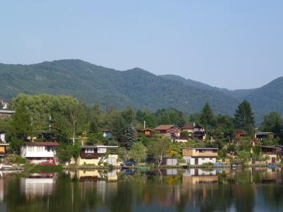 湖畔の風景① 7・27