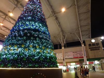 長崎駅クリスマスツリー 12・8