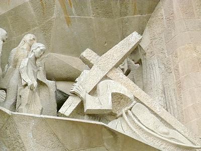 ゴルゴダの丘を登るキリスト