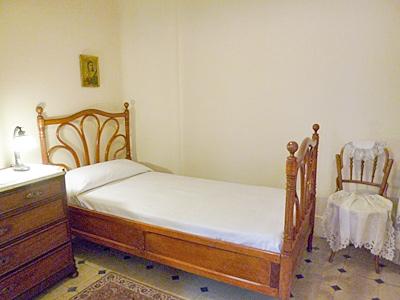 カサ・ミラ内のベッドルーム