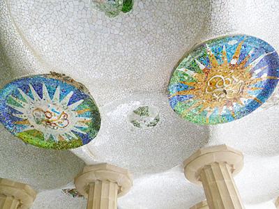 モザイクの天井