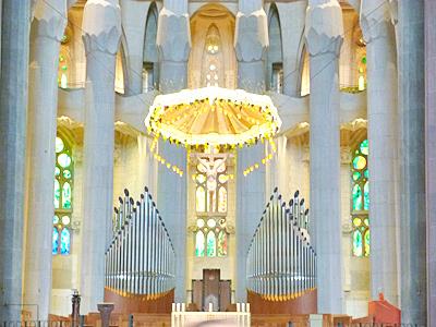 サグラダ・ファミリアの主祭壇