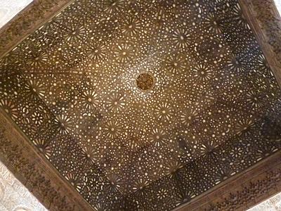 大使の間の天井