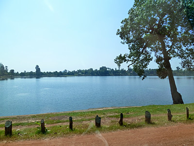 ジャヤバルマン7世が12世紀に造った沐浴場