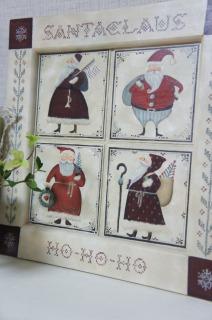 クリスマスの作品出しました
