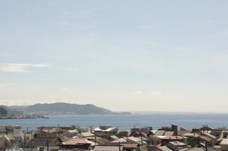 相模湾の景色