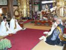 お会式法要での七名の聖僧