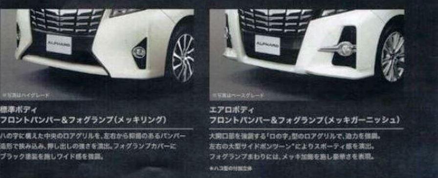 トヨタ 新型アルファード 2015 カタログ3