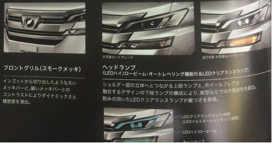 トヨタ 新型ヴェルファイア 2015 カタログ